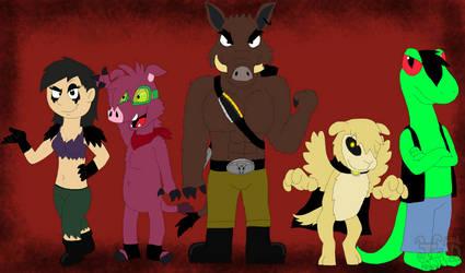 Desolate Rain: Igor and his Bounty Hunters