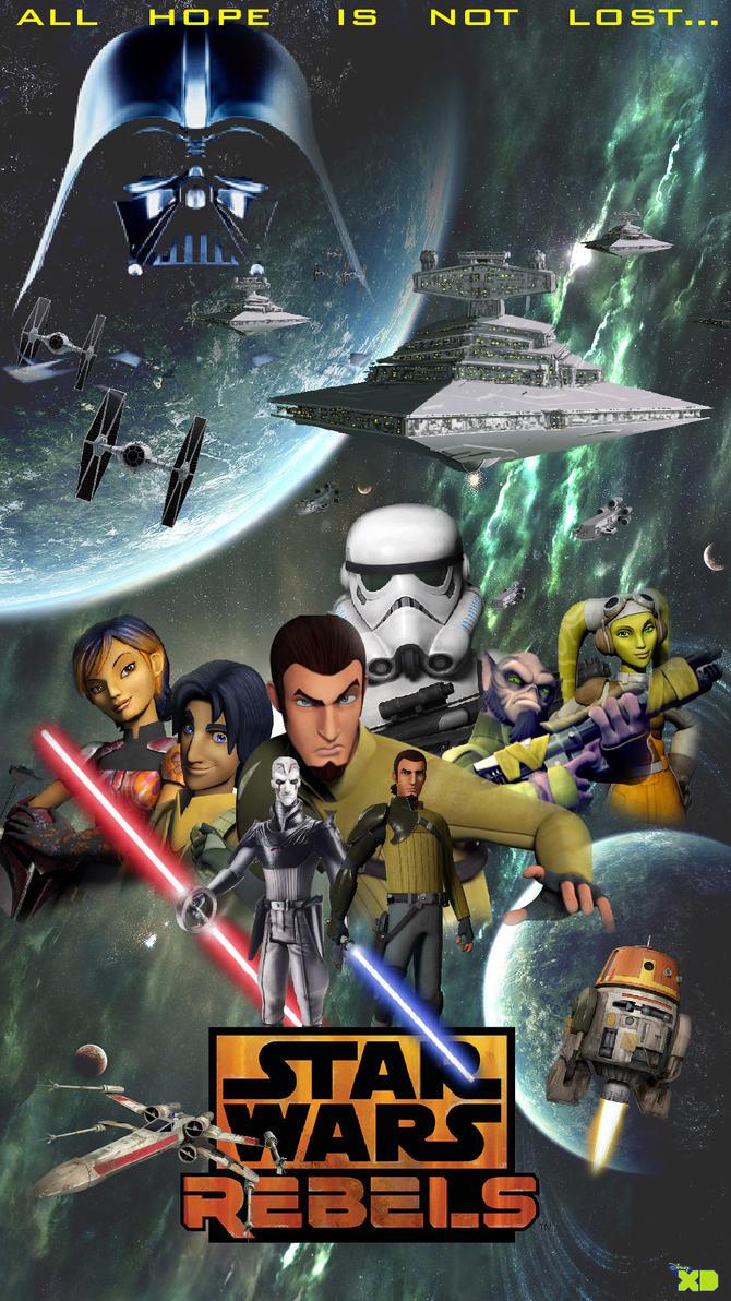 star wars rebels v1 by aaronfrazier - Stars War
