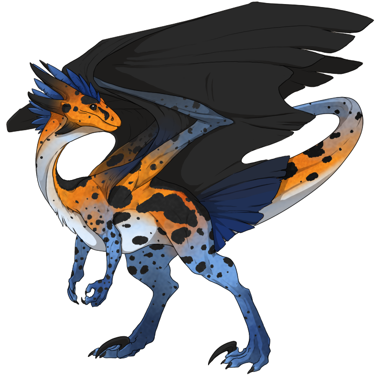 Flight Rising Skin- Poison Dart Wildclaw Male by NegativeDiamond