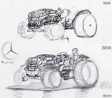 Mercedes T-class _Traktor by GLoRin26