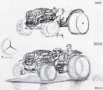 Mercedes T-class _Traktor
