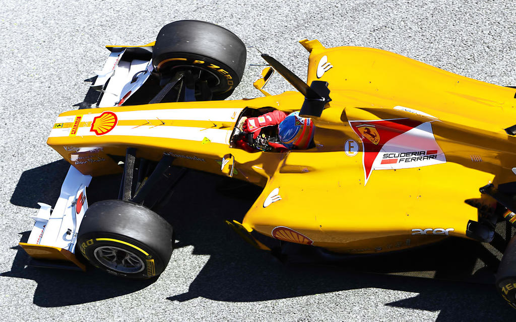 yellow Ferrari F2012 by GLoRin26
