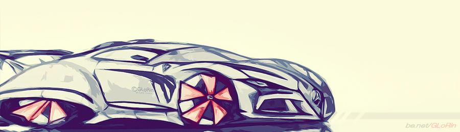 Mercedes concept car by GLoRin26