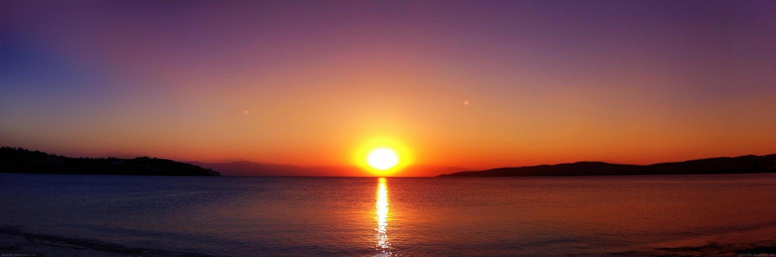 *Panoramic Sunset by GLoRin26