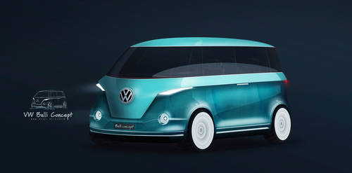 VW Bulli Concept (unofficial) by GLoRin26