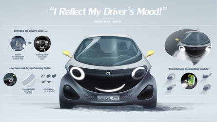 I can reflect my driver's emotions! -car by GLoRin26