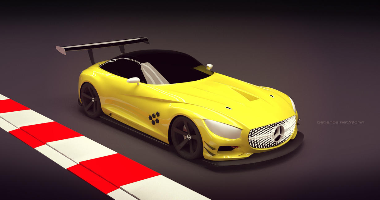 Mercedes SLS GT3 (unofficial) by GLoRin26