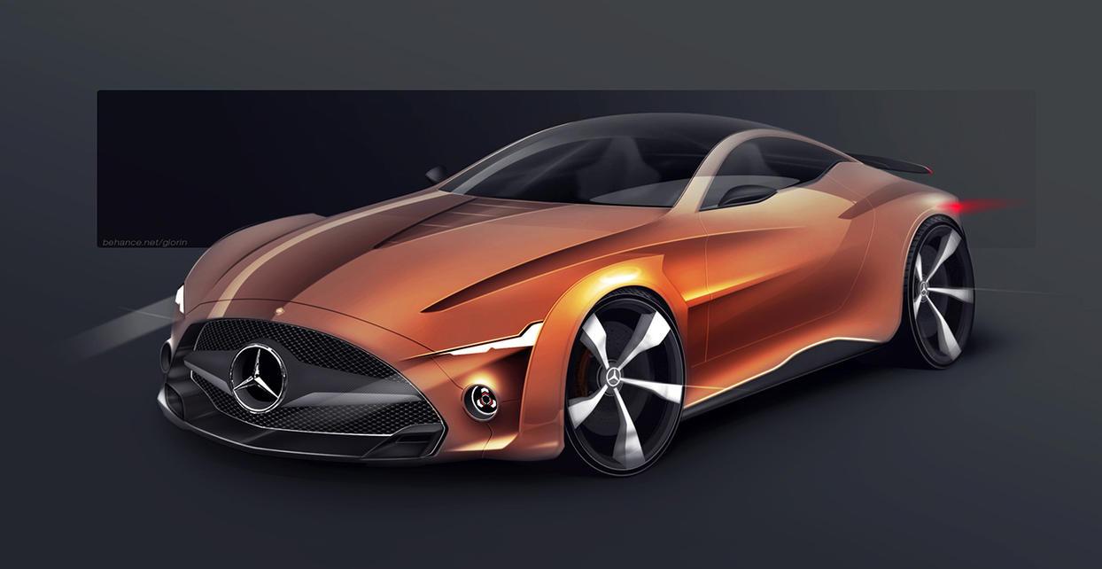 Mercedes-Benz Aggressive Grand Tourer by GLoRin26