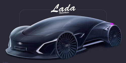 LADA Future Vision Concept 2040 by GLoRin26