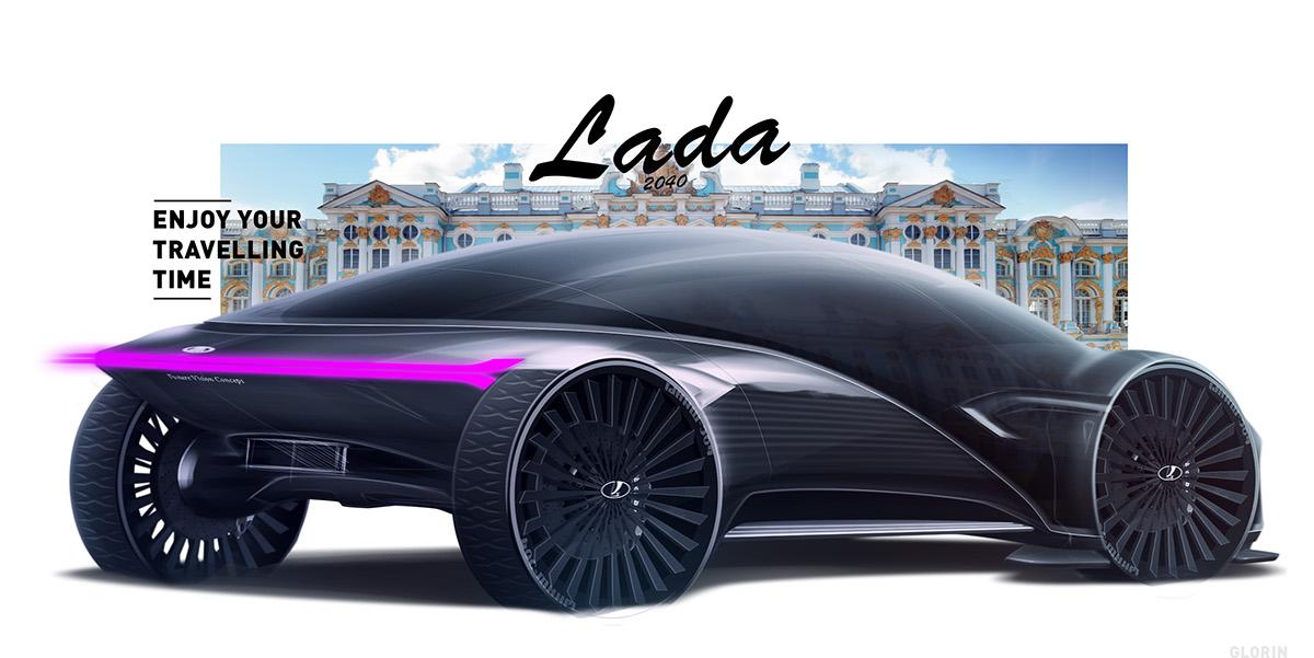 LADA Future Vision Concept 2040 by GLoRin26