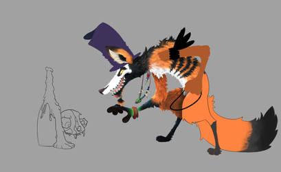 Voodoo Fox WIP