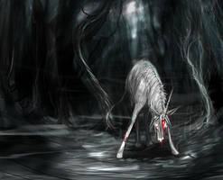 Undead Unicorn by shelldragon