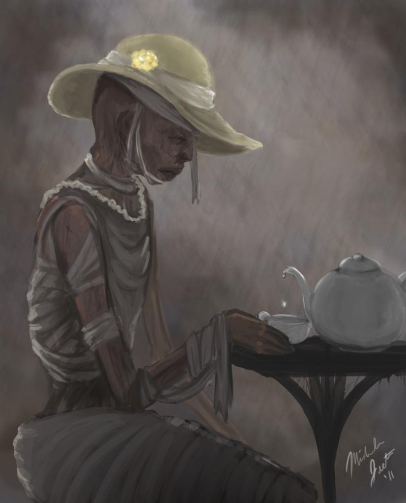 Oct 3 11 Mummy Dear by shelldragon