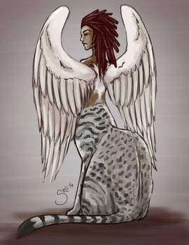Monster of the Day 3 - Sphinx