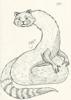 Monster of the Day 14 - Red Panda Snake
