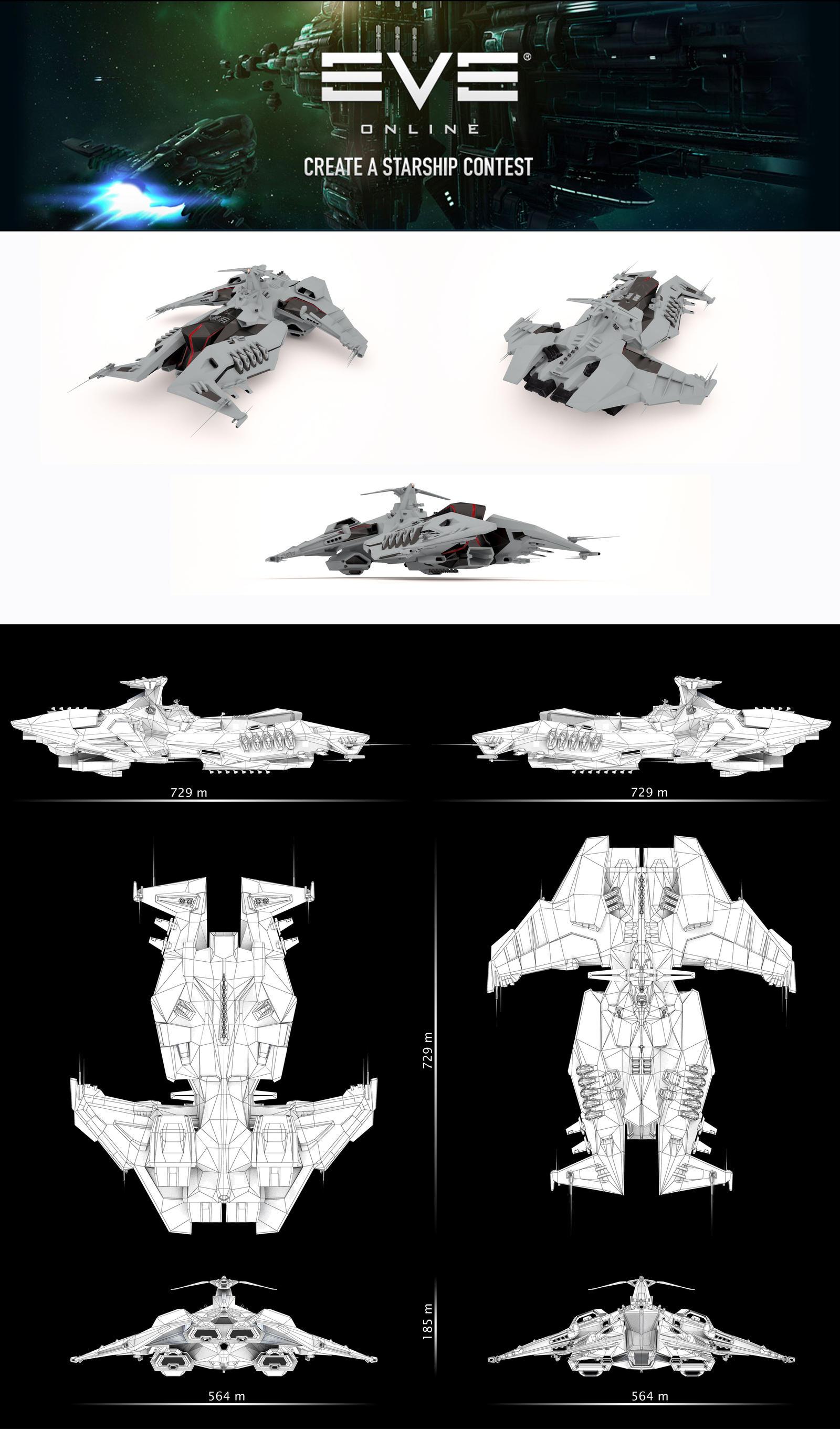 Caldari battleship by Viperster