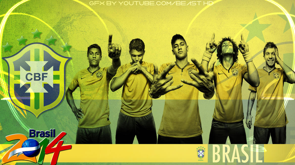 Brazil national team 2014 world cup wallpaper hd by - Brazil football hd wallpapers 2018 ...