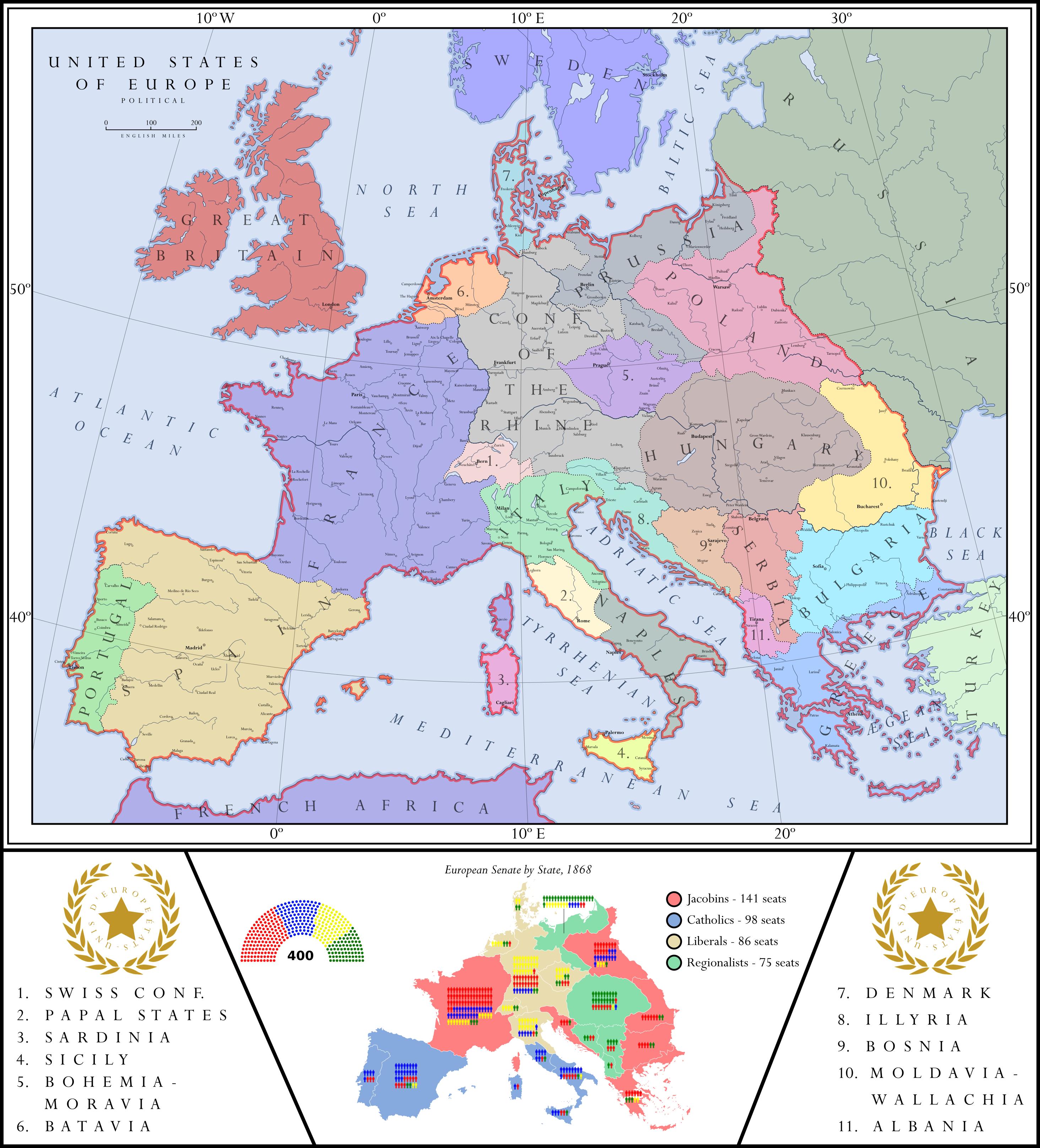 United States of Europe by ZekSora
