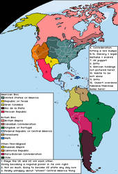 The Americas (from the United States of Europe)