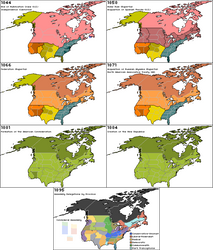 A House Divided, Standing: North America, 1844-95 by ZekSora