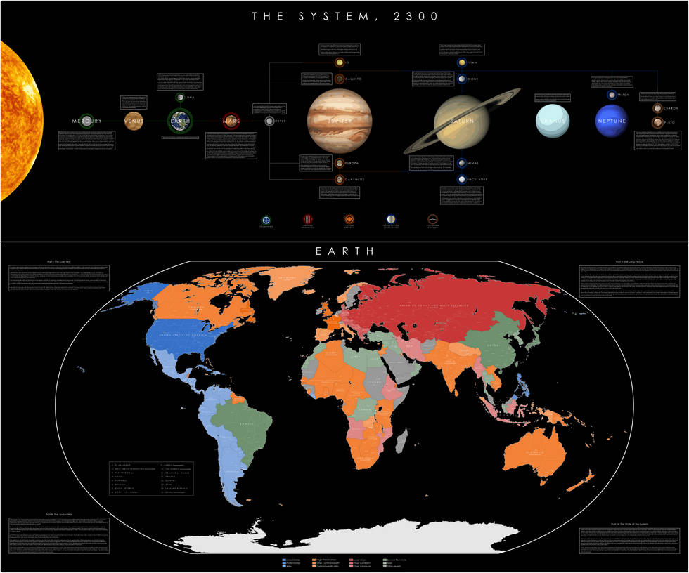 Into the Firmament: Sol System, 2300 AD