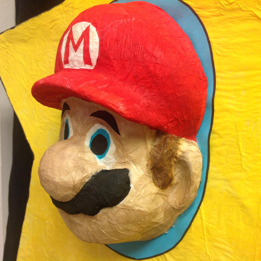 mario pinata how to make