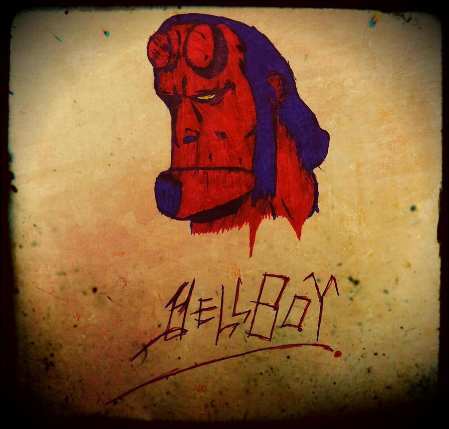 Hellboy Dood by damonx99