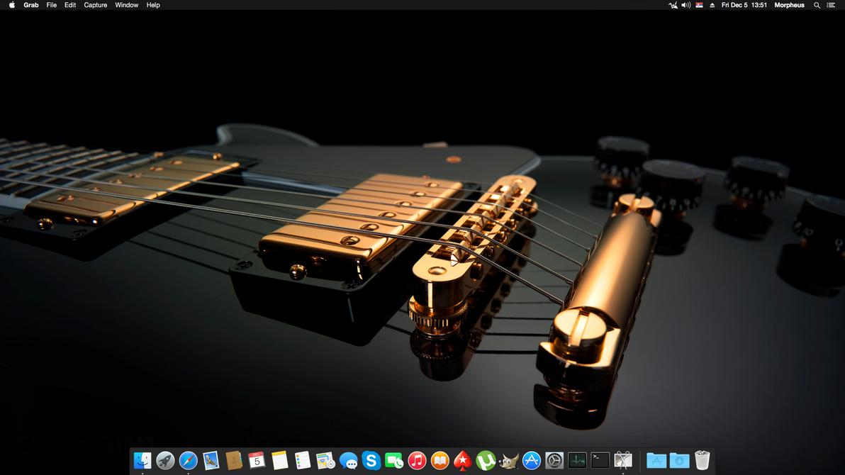 Mac OS X Yosemite December 2014 by MorpheusNS