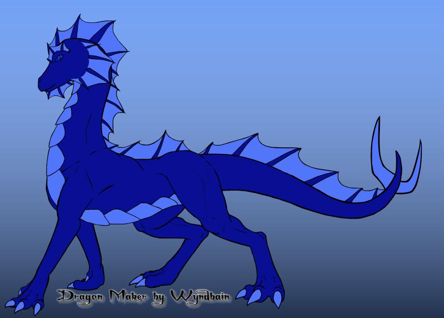 Male Water Dragon by chaosdragon77