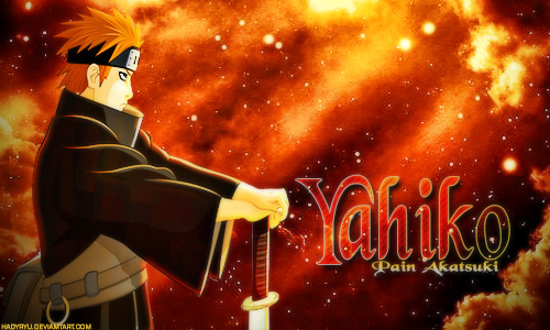 Yahiko Pain Akatsuki by HadyRyu on DeviantArt