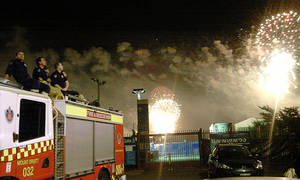 Firefighters New Year