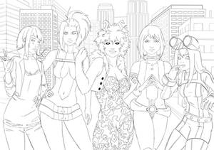 My Hero Academia Girls - Line