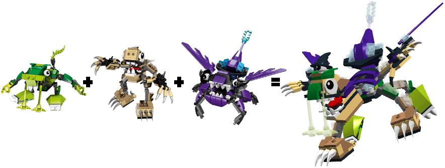 Lego mixels series 3 max combined set by darktidalwave on deviantart