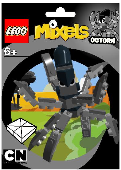 Lego Mixels: Octorn Package Bag by DarkTidalWave on DeviantArt