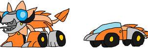 Cyber Mixformers: Wheelie