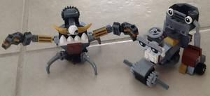 Lego Mixels: Gox with Jinky Kamzo Mix