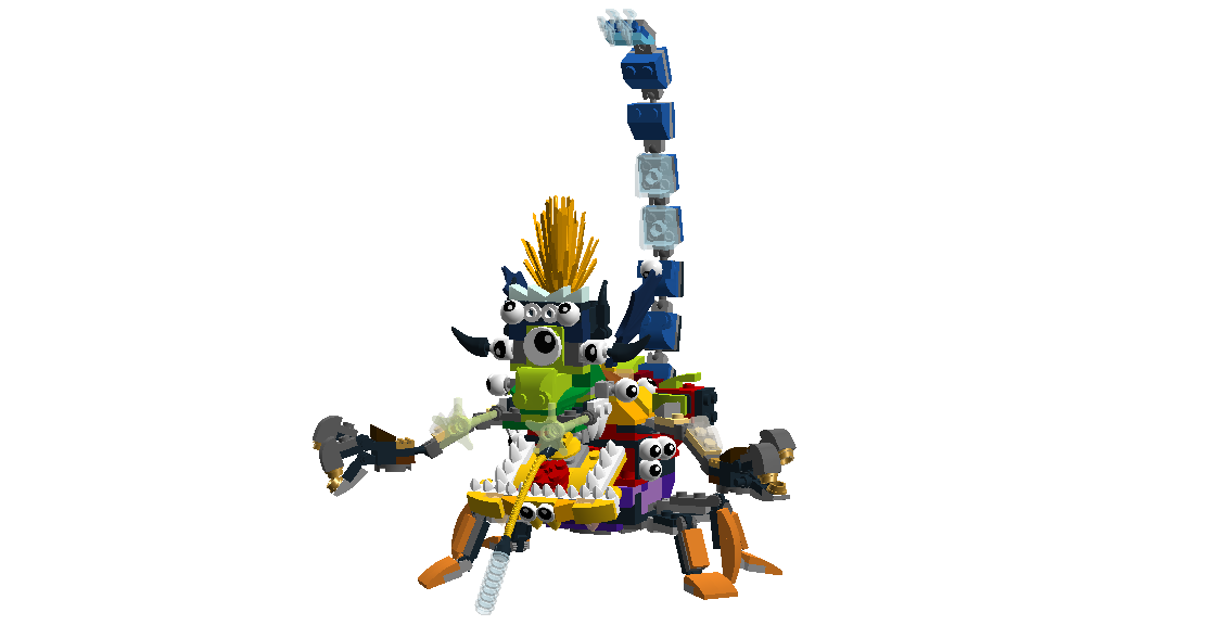Lego Mixels Ultra Miximum Max By Darktidalwave On Deviantart