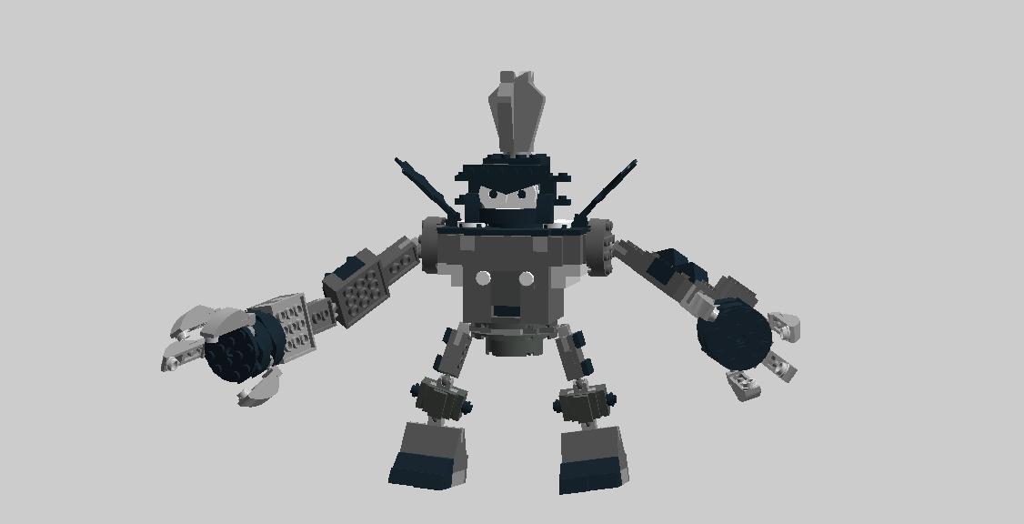 Lego Mixels Armored King Nixel By Darktidalwave On Deviantart