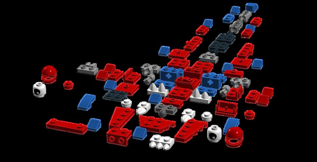 Lego Mixels Tatzel Parts Instruction Added By Darktidalwave On