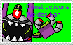 Constructicons Weldos Fan Stamp by DarkTidalWave
