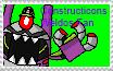Constructicons Weldos Fan Stamp by DarkTidalWave