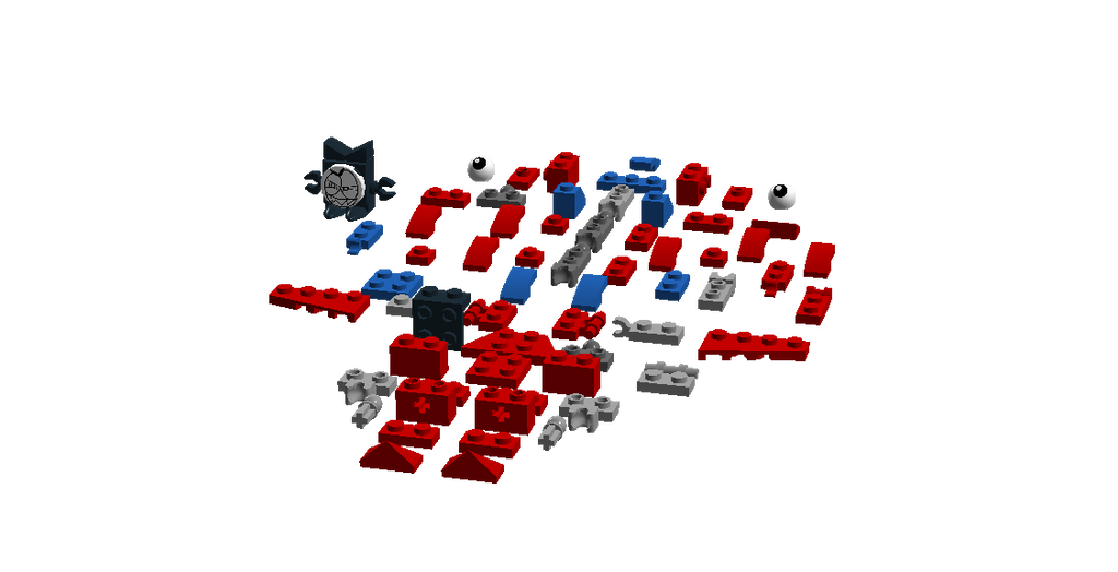 Lego Mixels Manda Parts Instruction Added By Darktidalwave On