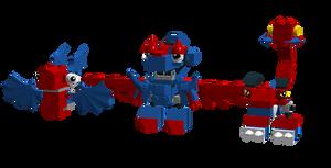 Lego Mixels: Predasparks Cousins