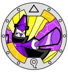 Mixels Yo-Kai Watch: Magnifo Medal by DarkTidalWave