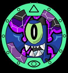 Mixels Yo-Kai Watch: Globert Medal by DarkTidalWave