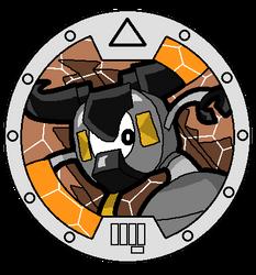 Mixels Yo-Kai Watch: Seismo Medal by DarkTidalWave