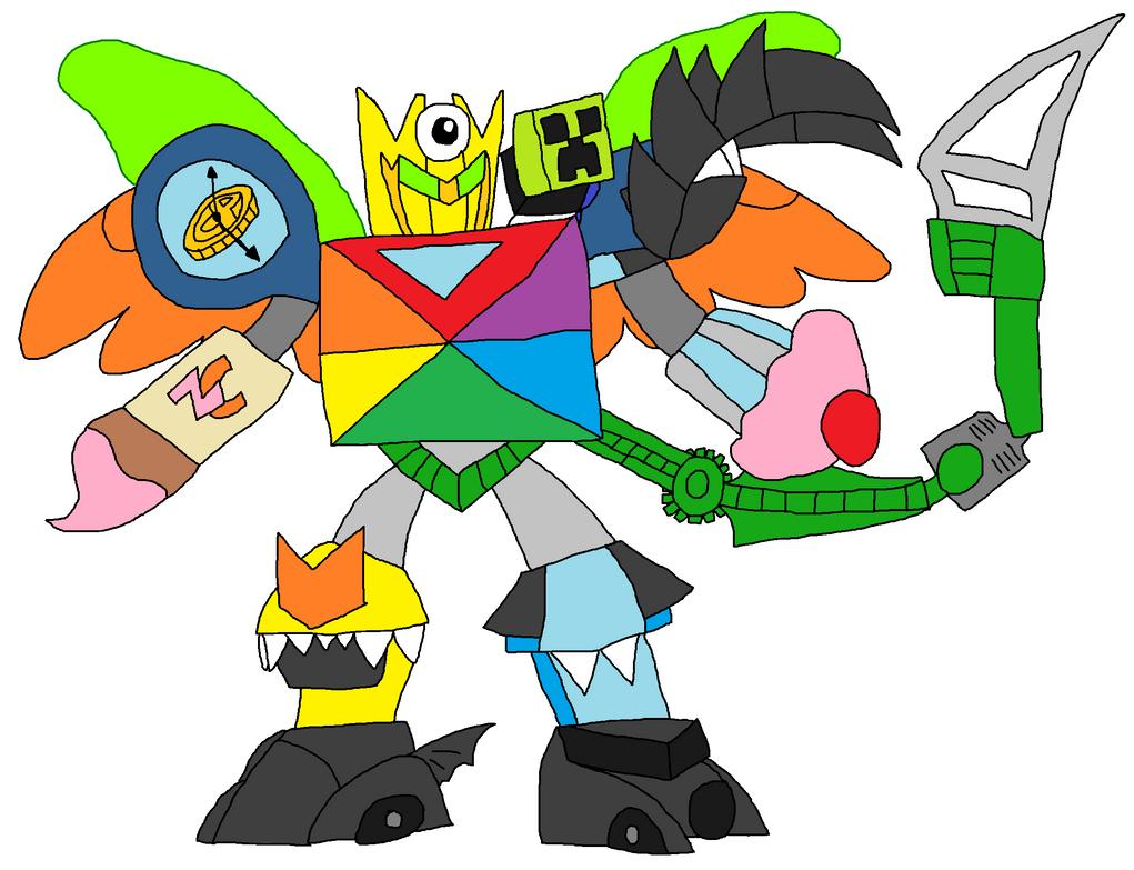 Mixels: Mixels Wiki's Robot By DarkTidalWave On DeviantArt