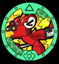 Mixels Yo-Kai Watch: Meltus Medal by DarkTidalWave