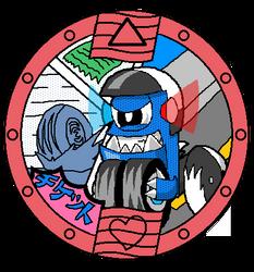 Mixels: Yo-Kai Watch: Tiketz Medal by DarkTidalWave
