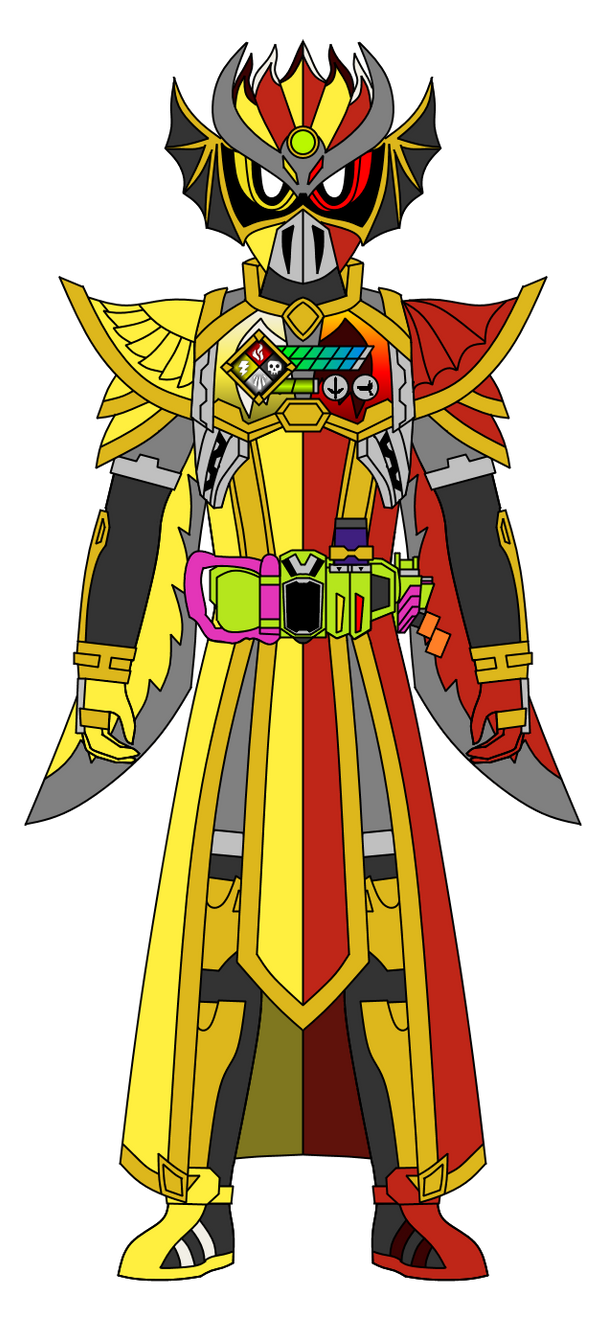 Kamen Rider Fal-Ren: Survival Heaven Gamer Lv.99 by DarkTidalWave
